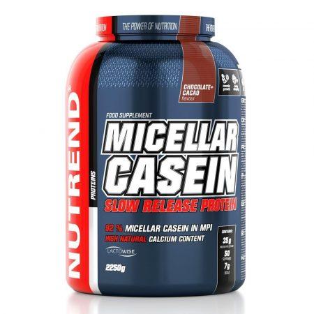 Nutrend Micellar Casein - 2250 g  kazein fehérjepor