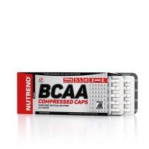 Nutrend BCAA COMPRESSED CAPS 120 tabletta aminosav táplálékkiegészítő