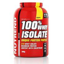 Nutrend 100% WHEY ISOLATE - 1800g  tejsavó fehérje