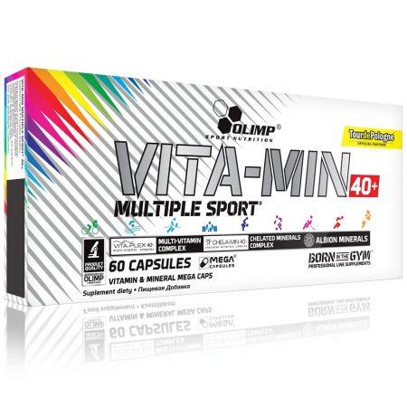 OLIMP Vita-Min Multiple Sport™ 40+ vitamin 60 kapszula vitamin idősebb sportolóknak