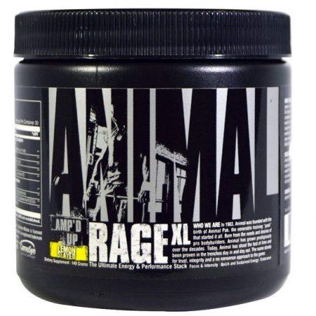 Universal Nutrition Animal Rage XL edzés előtti teljesítménynövelő