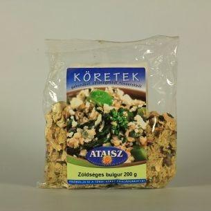 Reformélelmiszer Ataisz bulgur köret zöldséges 200 g