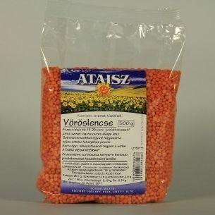 Reformélelmiszer Ataisz vöröslencse 500 g
