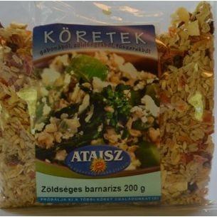Reformélelmiszer Ataisz barnarizs köret zöldséges 200 g