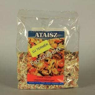 Reformélelmiszer Ataisz chilis rizottó vegyeszöldséggel 200g