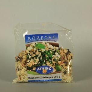 Reformélelmiszer Ataisz rizsköret zöldséges 200 g