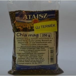 Reformélelmiszer Ataisz chia mag 250 g