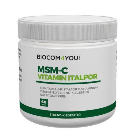 Biocom MSM-C vitamin italpor 165g