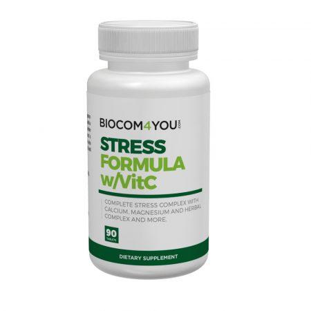 Biocom Stress Formula C-vitaminnal 90 tabletta