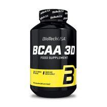 Biotech BCAA 3D 180 kapszula BCAA aminosav táplálék-kiegészítő
