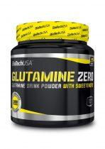Biotech Glutamine Zero 300g l-glutamin aminosavat tartalmazó termék