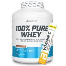 Biotech 100% Pure Whey  2270g tejsavó fehérjét tartalmazó fehérjepor