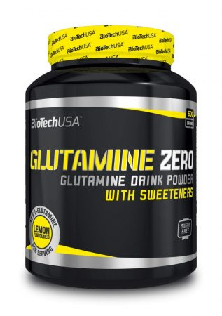 Biotech Glutamine Zero 600g l-glutamin aminosavat tartalmazó termék