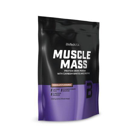 Biotech Muscle Mass 1000g termék tömegnöveléshez