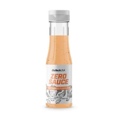 Biotech zero sauce Fűszeres Fokhagyma 350ml