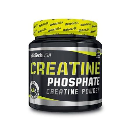 Biotech Creatine Phosphate 300g kreatin foszfátot tartalmazó termék
