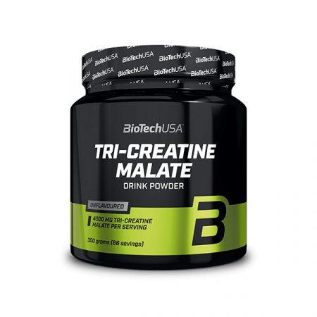 Biotech Tri Creatine Malate 300g TCM-Trikreatin-malátot tartamazó kreatin készítmény