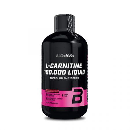 Biotech L-Carnitine 100.000 500 ml l-karnitin termék fogyókúrázóknak