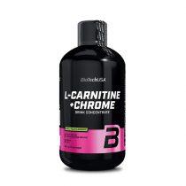 Biotech L-Carnitine + Chrome 500 ml l-karnitin termék fogyókúrázóknak