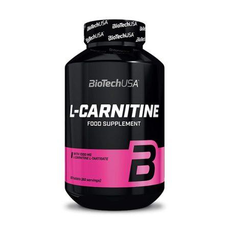 Biotech L-Carnitine 1000 mg 60 tabletta l-karnitin termék fogyókúrázóknak