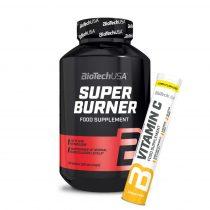 Biotech Super Fat Burner 120 tabletta makacs zsírpárnák elleni táplálék-kiegészítő
