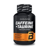 Biotech Caffeine + Taurine 60 kapszula edzés előtti táplálék-kiegészítő termék