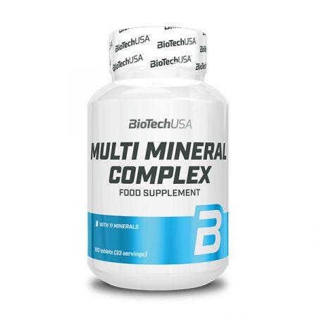 Biotech Multi Mineral Complex 100 tabletta asványi anyag komplex