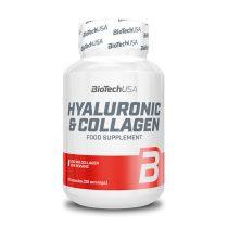 Biotech Hyaluronic & Collagen 30 kapszula szépségvitamin