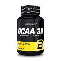 Biotech BCAA 3D 90 kapszula BCAA aminosav táplálék-kiegészítő