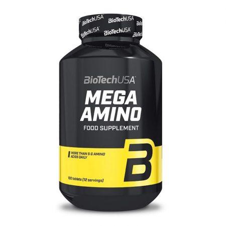 Biotech Mega Amino 3200 100 tabletta különböző aminosavakat tartalmazó táplálék-kiegészítő