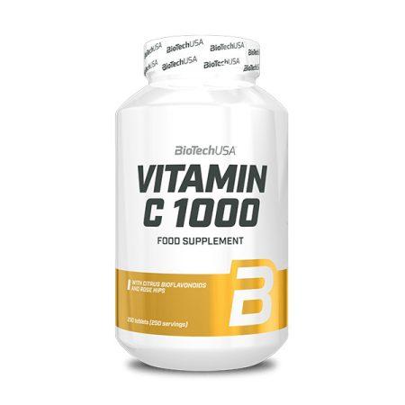 Biotech Vitamin C 1000 Bioflavonoids 250 tabletta vitamin