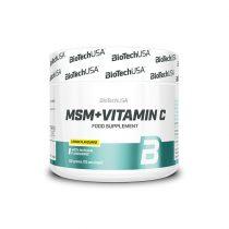 Biotech MSM + Vitamin C 150g szépségvitamin