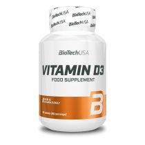 Biotech Vitamin D3 60 tabletta vitamin