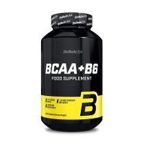 Biotech BCAA+B6 200 tabletta BCAA aminosav táplálék-kiegészítő