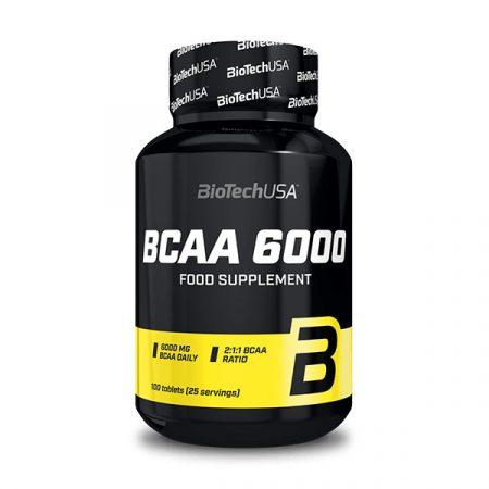 Biotech BCAA 6000 100 tabletta BCAA aminosav táplálék-kiegészítő