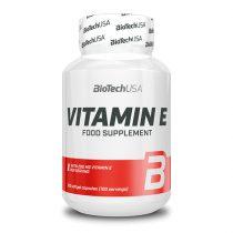 Biotech Vitamin E 100 lágyzselatin kapszula agyvitamin