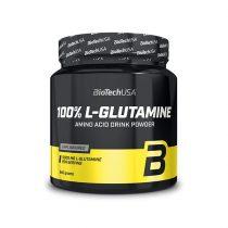 Biotech 100% L-Glutamine 240g l-glutamin aminosavat tartalmazó termék
