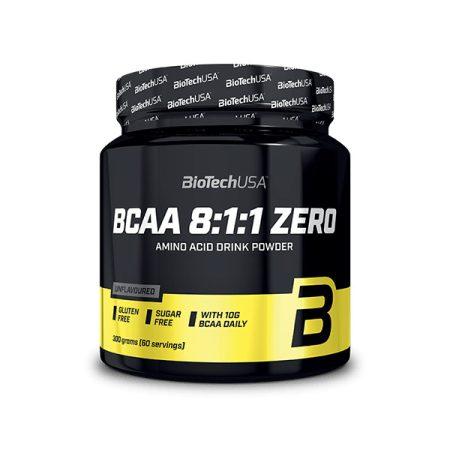 Biotech BCAA 8:1:1 aminosav 300g BCAA aminosav táplálék-kiegészítő