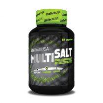Biotech MultiSalt 60 kapszula energizáló táplálék-kiegészítő