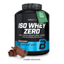 Biotech Iso Whey Zero 2270g tejsavó fehérjét tartalmazó fehérjepor
