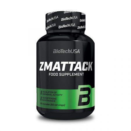 Biotech ZMattack 60 kapszula tesztoszteron és hormonszint optimalizáló