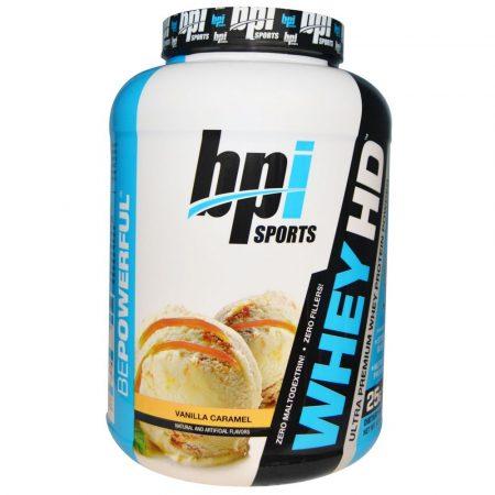 BPI Sports Whey HD - 2040g prémium minőségű fehérje