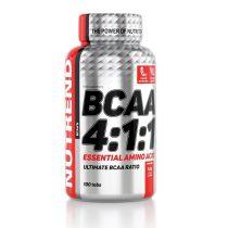 Nutrend BCAA 4:1:1 - 100 tabletta aminosav táplálékkiegészítő