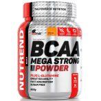 Nutrend BCAA Mega Strong Powder - 500 g aminosav táplálékkiegészítő