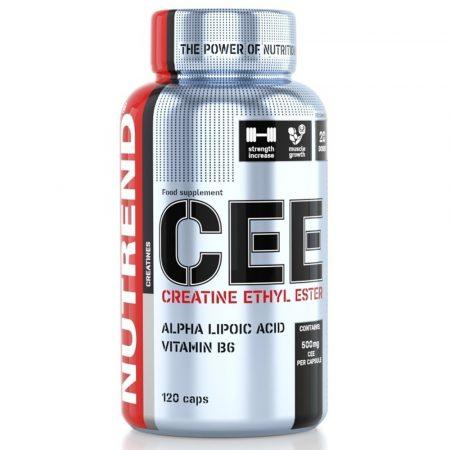 Nutrend Creatine Ethyl Ester - 120 kapszula kreatin kapszula sportolóknak