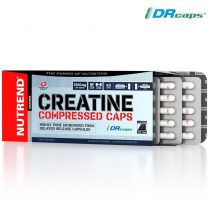 Nutrend Creatine Compressed Caps - 120 kapszula kreatin kapszula sportolóknak