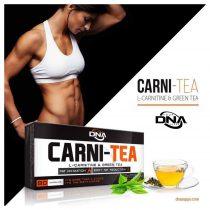 DNA CARNI-TEA L-karnitin & zöld tea 90 kapszula l-karnitin tartalmú diétás termék