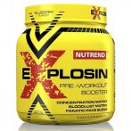 Nutrend Explosin - Pre-Workout Booster edzés előtti teljesítménynövelő