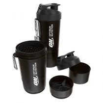 Optimum Nutrition prémium Smart Shaker fekete színben - 800ml