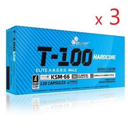 T-100 Hardcore Tesztoszteron csomag